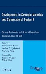 Developments in Strategic Materials and Computational Design II (Ceramic Engineering And Science Proceedings, nr. 32)