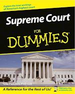 Supreme Court For Dummies af Lisa Paddock