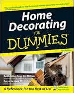 Home Decorating For Dummies (General Trade)