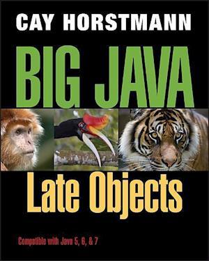 Bog, paperback Big Java Late Objects af Cay S Horstmann