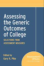 Assessing the Generic Outcomes of College (Assessment Update Special Collections)