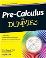 Pre-Calculus For Dummies