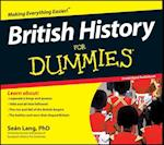 British History for Dummies Audiobook