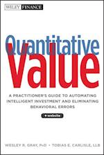 Quantitative Value (Wiley Finance)