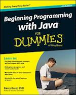Beginning Programming with Java for Dummies af Barry A. Burd