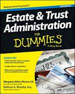 Estate & Trust Administration for Dummies, 2nd Edition