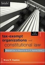 Tax-Exempt Organizations and Constitutional Law (Wiley Nonprofit Authority)