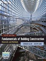 Fundamentals of Building Construction af Edward Allen