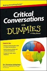 Critical Conversations for Dummies (For dummies)