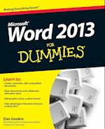 Word 2013 for Dummies