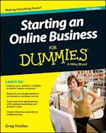 Starting an Online Business for Dummies (For dummies)