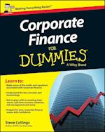 Corporate Finance for Dummies, UK Edition af Steven Collings