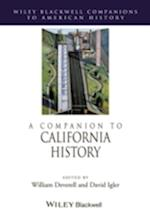 A Companion to California History af William Deverell