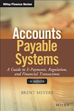 Accounts Payable Systems (Wiley Finance)