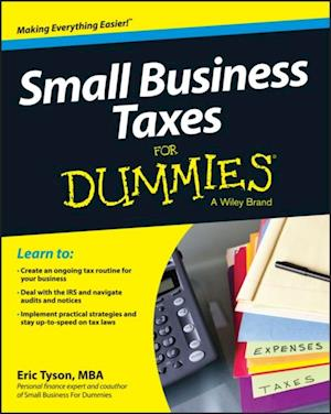 Small Business Taxes For Dummies af Eric Tyson