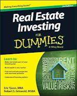 Real Estate Investing For Dummies af Eric Tyson