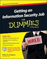 Getting an Information Security Job for Dummies (For dummies)