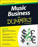 Music Business For Dummies af Loren Weisman