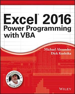 Excel 2016 Power Programming with VBA af Michael Alexander