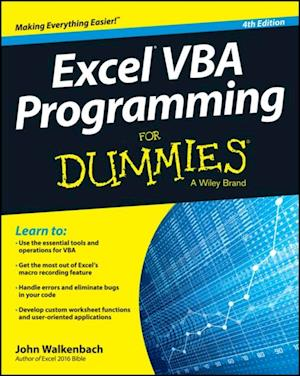 Excel VBA Programming For Dummies af John Walkenbach
