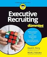Executive Recruiting for Dummies (For dummies)