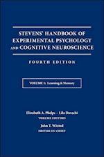 Stevens' Handbook of Experimental Psychology and Cognitive Neuroscience (nr. 1)