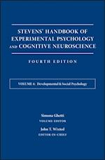Stevens' Handbook of Experimental Psychology and Cognitive Neuroscience, Developmental and Social Psychology