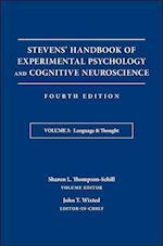 Stevens' Handbook of Experimental Psychology and Cognitive Neuroscience (nr. 3)