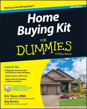 Bog paperback Home Buying Kit for Dummies 6th Edition af Eric Tyson
