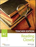 Reading Closely Teacher Handbook, Grades 6-12 af Odell Education