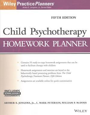 Child Psychotherapy Homework Planner