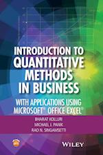 Introduction to Quantitative Methods in Business: With Applications Using Microsoft Office Excel af Michael J. Panik