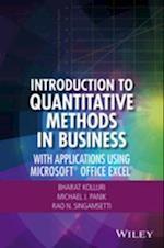 Introduction to Quantitative Methods in Business af Michael J. Panik, Bharat Kolluri, Rao N. Singamsetti