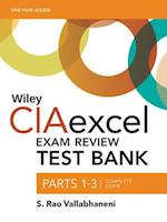 Wiley CIAexcel Exam Review 2016 Test Bank (Wiley CIA Exam Review Series)