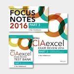 Wiley CIAexcel Exam Review + Test Bank + Focus Notes 2016 (Wiley CIA Exam Review Series)