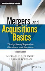Mergers and Acquisitions Basics (Wiley Finance)