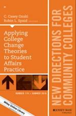 Applying College Change Theories to Student Affairs Practice af Robin L. Spaid