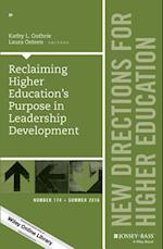 Reclaiming Higher Education's Purpose in Leadership Development (J-b He Single Issue Higher Education)