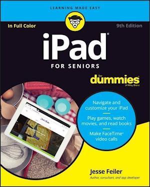 Bog, paperback iPad for Seniors For Dummies af Jesse Feiler