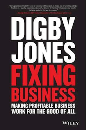 Bog, hardback Fixing Business af Lord Digby Jones