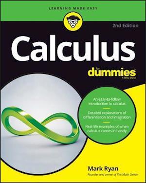 Bog, paperback Calculus for Dummies, 2nd Edition af Mark Ryan