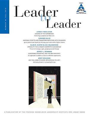 Bog, paperback Leader to Leader (Ltl), Volume 82, Fall 2016 af Ltl, Bruce Rosenstein