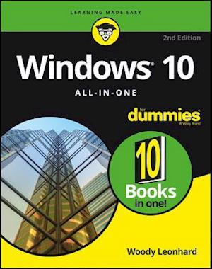 Bog, paperback Windows 10 All-In-One for Dummies, 2nd Edition af Woody Leonhard