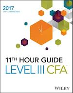 Wiley 11th Hour Guide for 2017 Level III CFA Exam