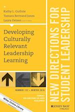 Developing Culturally Relevant Leadership Learning (J B Sl Single Issue Student Leadership)