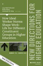 How Ideal Worker Norms Shape Work-Life for Different Constituent Groups in Higher Education (NEW DIRECTIONS FOR HIGHER EDUCATION)