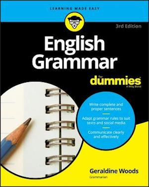 Bog, paperback English Grammar For Dummies af Geraldine Woods