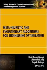 Meta-Heuristic and Evolutionary Algorithms for Engineering Optimization (Wiley Series in Operations Research and Management Science, nr. 294)