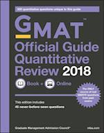 GMAT Official Guide 2018 Quantitative Review: Book + Online