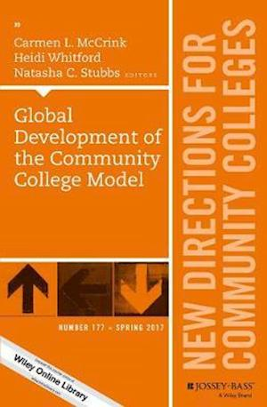 Bog, paperback Global Development of the Community College Model, CC 177 af Carmen L McCrink